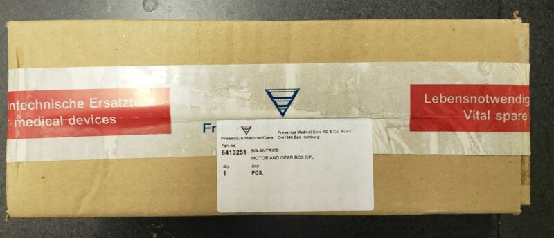 Fresenius 2008H  motor and gear box for Arterial Pump part# 641325