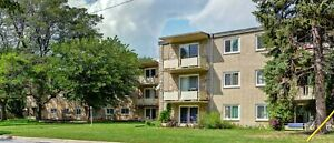 Sparkling Clean 2 Bedroom ~Secure Building ~ Great Location