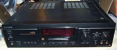 SONY MDS-JA3ES MINIDISC RECORDER PLAYER DECKS WORKS GREAT BUY IT NOW BEST BUY (Best Minidisc Player Recorder)