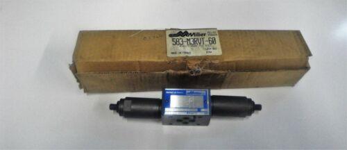 MILLER VALVE 583-M3RVT-60 RELIEF MODULE D03 PATTERN