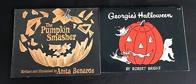 HALLOWEEN PUMPKIN SMASHER By Benarde GEORGIE'S HALLOWEEN By Bright FREE SHIP