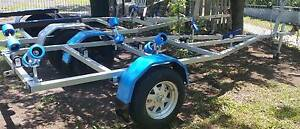 BOAT TRAILER NEWLY BUILT WILL TAKE 4 MTR BOAT Inala Brisbane South West Preview