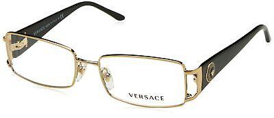 Versace VE1163M Eyeglass Frames 1252-52 - Pale Gold (Versace Eye Glass Frames)
