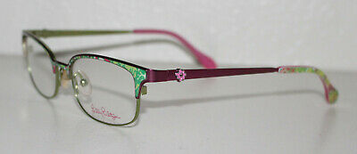 LILLY PULITZER EFFIE PINK New Optical Eyeglass Frame For (Frame For Eyeglass)