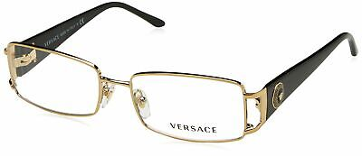 Versace Women's VE1163M Eyeglasses Pale Gold 52 Millimeters