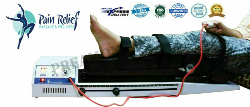 Continuous Passive Motion Machine Knee Exercise Physiotherapy Pro.Home Use Unit