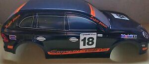 1/10 RC car 190mm on road drift Porsche Cayenne Body Shell Black