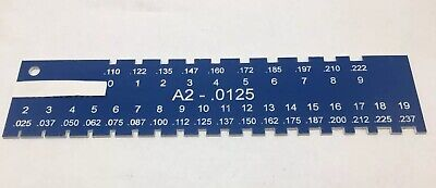 Locksmith Pin Gauge For Sfic A2