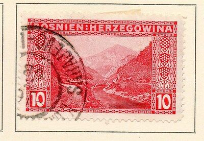 Bosnia Herzegovina 1906 Early Issue Fine Used 10h. 149178