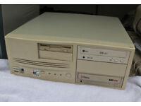 Mertec AMD K6 166 MHz Desktop Computer