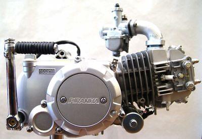 140CC PIRANHA SEMI-AUTO Electric start under engine. better than Lifan 125