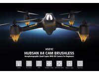 Hubsan x4 h501c brushless motor! drone 1080p HD camera GPS altitude hold one key return headlesm