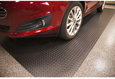 Garage RV Flooring Diamond Heavy Duty Mat Trailer Floor Covering 7.5 x 14 ft Garage Floor Cover