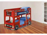 LONDON BUS BUNK BED NEW