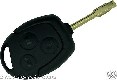 Fits Ford Mondeo Focus Transit CMax Fiesta Key Fob Case FO21 Tibbe Blade shell