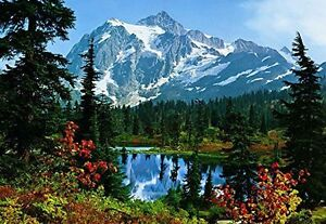 Photo Wallpaper Wall Murals - Mountain Morning Nature Landscape - 211
