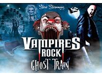 2 x Tickets for Vampires Rock Ghost Train at Bournemouth Pavilion - 14 Oct 16