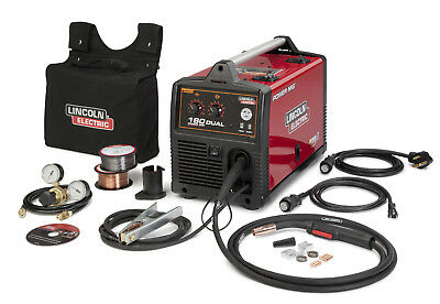Lincoln Power Mig 180 Dual Mig Welder Package K3018-2