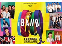 2 x balcony tickets for 'The Band' Take That musical at HMT