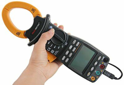 Mastech Trms Clamp Meter Power Factor Correction With With Rs232 Cable Connected