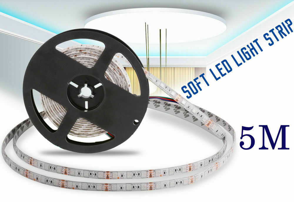 Led Strip Lighting 2*5M 32.8 Ft 5050 RGB 300 LEDs Flexible Color Changing Light 4