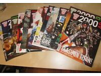 2000 AD Comics. Numbers 1830 - 1873 (43 comics + 1 special)