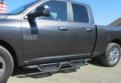 "7.5"" Nerf Bars for 09-18 Dodge Ram 1500 Quad Extended Cab Running Boards Steps"