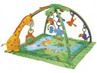 Fisher price jungle play gym mat