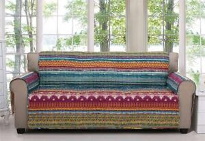 NEW Greenland Home Southwest Furniture Protector, Sofa Condtion: New, Multicolored