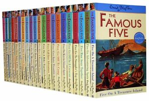 Enid Blyton Famous Five Series 21 Books Set (1 To 21)