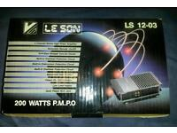 Brand new car amplifier amp for high end loud upgrade sound speakers 4ch 200watts