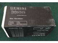 GEMINI CERAMIC GLOSS WHITE TILES 44 PACK 150X150MM - NEW