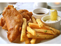 Fish & Chip Business for 21yrs Lease, Edinburgh central location, £50K ingoing premium