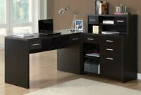 NEW COMPUTER DESK WITH CABINETS - SALE 30% OFF