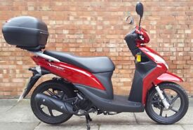 Honda Vision 110, Excellent condition! Only 2156 miles! 3 months warranty!!