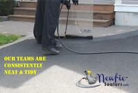 *NEWFIE SEALERS-Asphalt Sealing 100% Undiluted-Free Estimates*