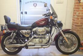 SOLD SUPERB CONDITION 2000 HARLEY DAVIDSON XL1200S STAGE 1 MANY EXTRAS