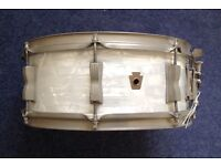 Ludwig WFL 14x5 snare drum.
