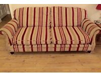 Laura Ashley Hertford sofas 2 seater & large 2 seater