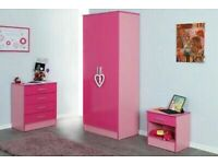 🎊🎁🎉Your Love For Home🎊🎁🎉Bed Room Set Alina 2 Doors Wardrobe In Diff Colors-Fastest Delivery