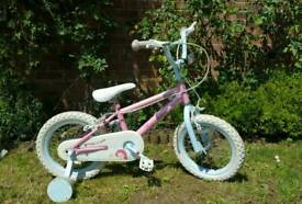 Girls Fairies bicycle 14 inch wheels immaculate