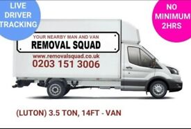 PROFESSIONAL, UNBEATABLE PRICES ON MAN & VAN, REMOVALS, INSTANT ONLINE QUOTE, UK & EUROPE 24/7 (OP)