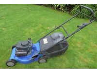 44cm Petrol Push Lawnmower spares or repair- Good Engine, Deck Failed - £20 - NO OFFERS -