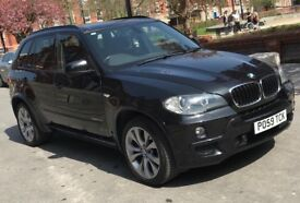 BMW X5 M Sport, Black,Sat Nav, Rear view camera, 104k miles, XDrive
