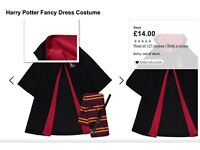 Harry Potter Fancy Dress Costume age 9-10