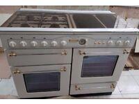LEISURE VICTORIANA DELUXE Gas & Electric Dual Fuel Range Cooker W110cm H94cm D60cm