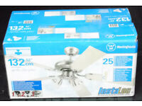 Westinghouse Ceiling Fan with lights