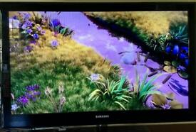 Samsung UE40B7020W 40-inch Widescreen Ultra Slim Full HD 1080P Crystal LED Television with Freeview