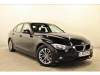 BMW 3 SERIES 2.0 320D EFFICIENTDYNAMICS BUSINESS 4d AUTO 161 BHP (black) 2014