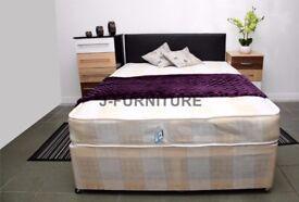 best selling brand--- BRAND NEW Double Divan Base + LUXURY SEMI Orthopaedic Mattress --